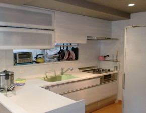2101クリナップのクリンレディにキッチンリフォームでスッキリ・清潔感あふれるキッチンに! Y様邸