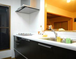2351クリナップのラクエラでモダンなキッチンに。 K様邸 キッチンリフォーム