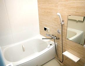 お部屋中が清潔感に溢れました! 水回りリフォーム TOTO WT 設置写真