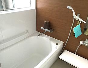 開放感漂うバスルームに大変身! A様邸 浴室・トイレリフォーム TOTO サザナ 設置写真