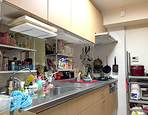 コスパに優れた充実キッチン LIXIL シエラ 設置写真