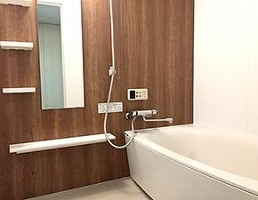 バスルームとキッチンをまとめてリフォーム パナソニック MR-X 設置写真