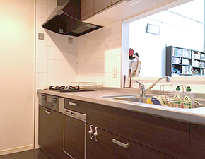 料理がより楽しくなります キッチンリフォーム LIXIL シエラ 設置写真