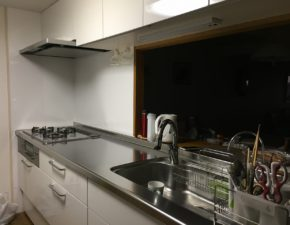 キッチン・ユニットバスリフォーム  LIXIL アレスタ パナソニック MR-X 設置写真