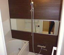 まとめてお得!浴室・洗面化粧台・レンジフード TOTO WTシリーズ Nタイプ 設置写真