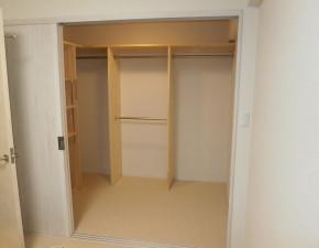 20886畳の和室を4.5畳に 隣室クローゼットをウォークインクローゼットに作り変え 大阪府Y様邸