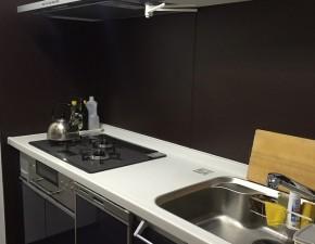 リビングステーションVにキッチンリフォーム!オシャレな空間に パナソニック リビングステーションV 設置写真