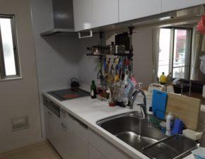 2336LIXILのシエラ+パナソニックの7シリーズ食洗機で使い勝手の良いキッチンリフォームに。 Y様邸
