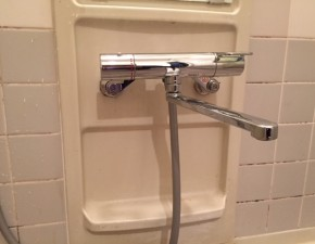K様邸 浴室水栓リフォーム 設置写真